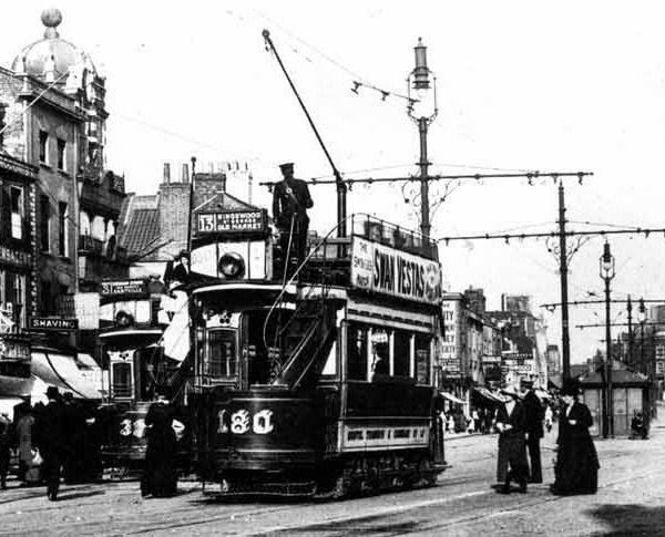 bristol trams
