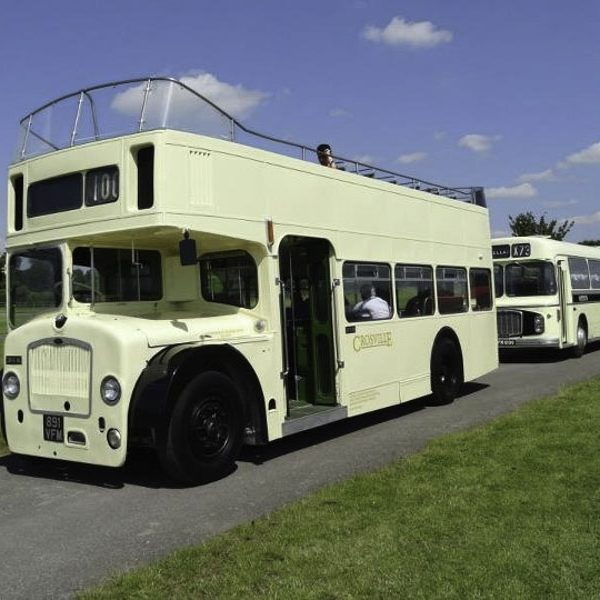 Open top bus gin tour